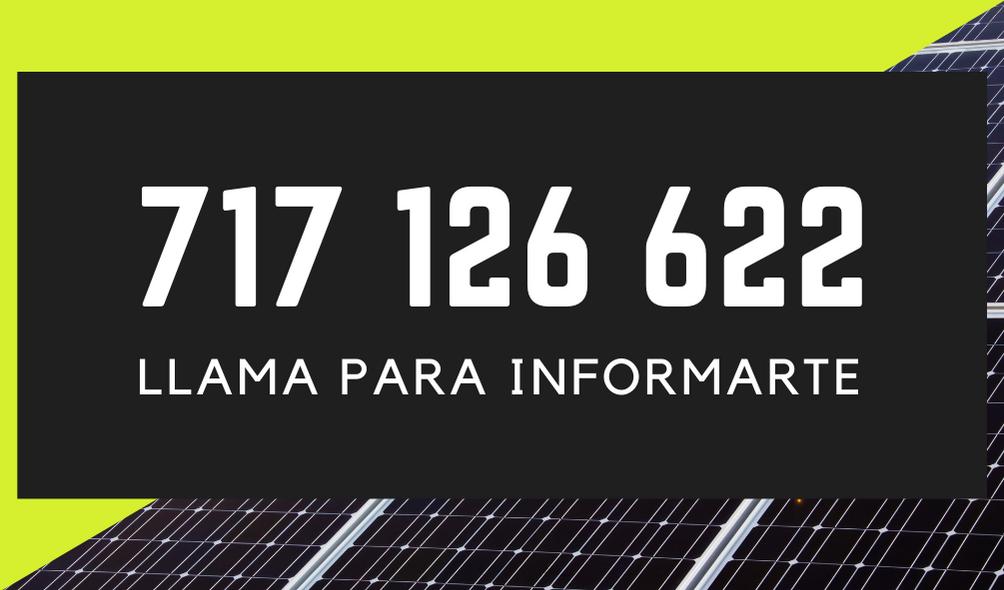 telefono placas solares